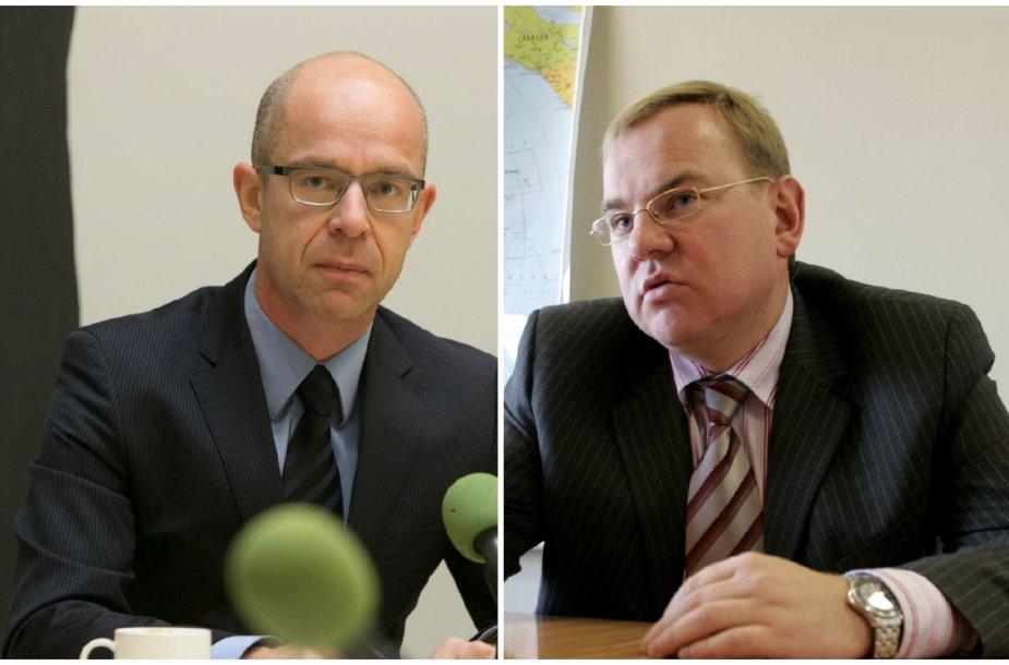 Ignas Staškevičius ir Gintaras Marcinkevičius