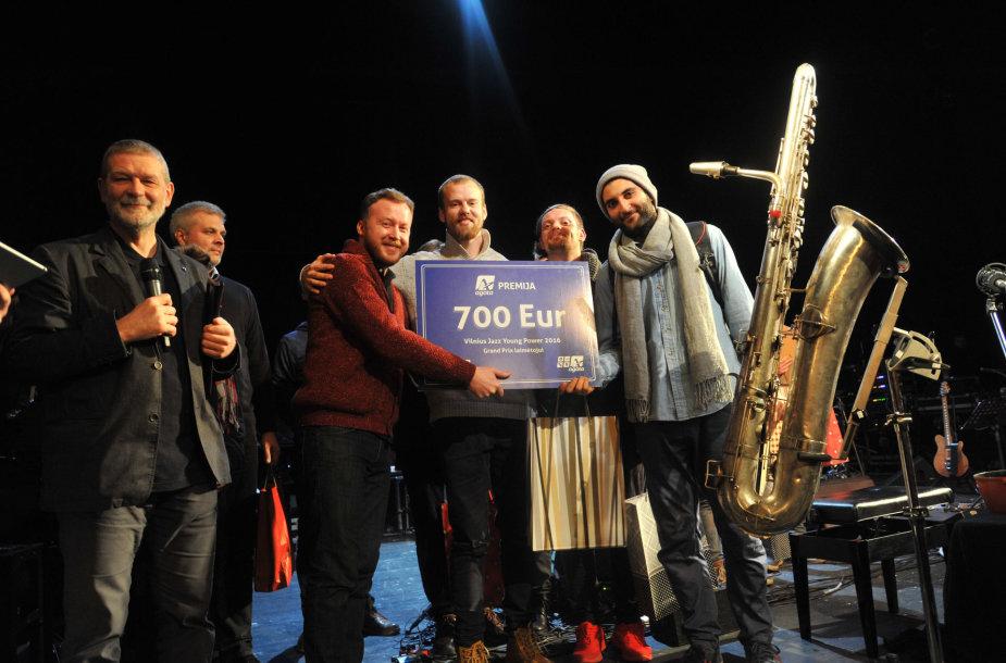 "11-ojo ""Vilnius Jazz Young Power"" konkurso laureatai – ""TDT"""