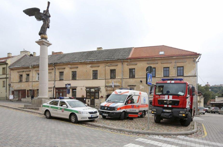 Vilniuje, Užupyje, rastas sprogmuo