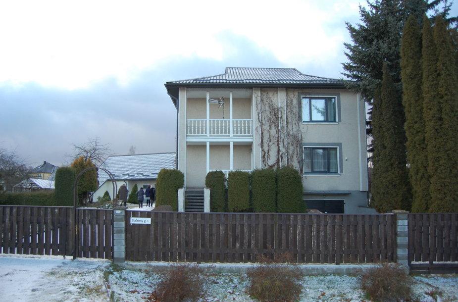 Namas Bajoriškių kaime