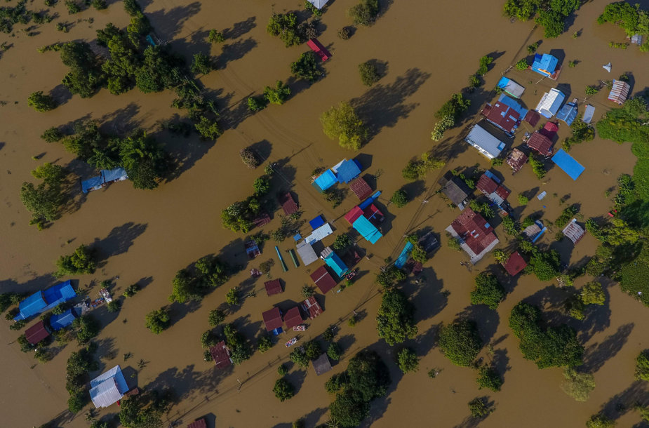 Potvynis Tailande