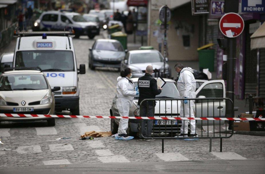 Šeštadienio rytas Paryžiuje po teroristinių atakų