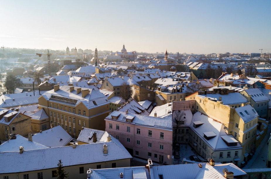 Vilnius žiemą