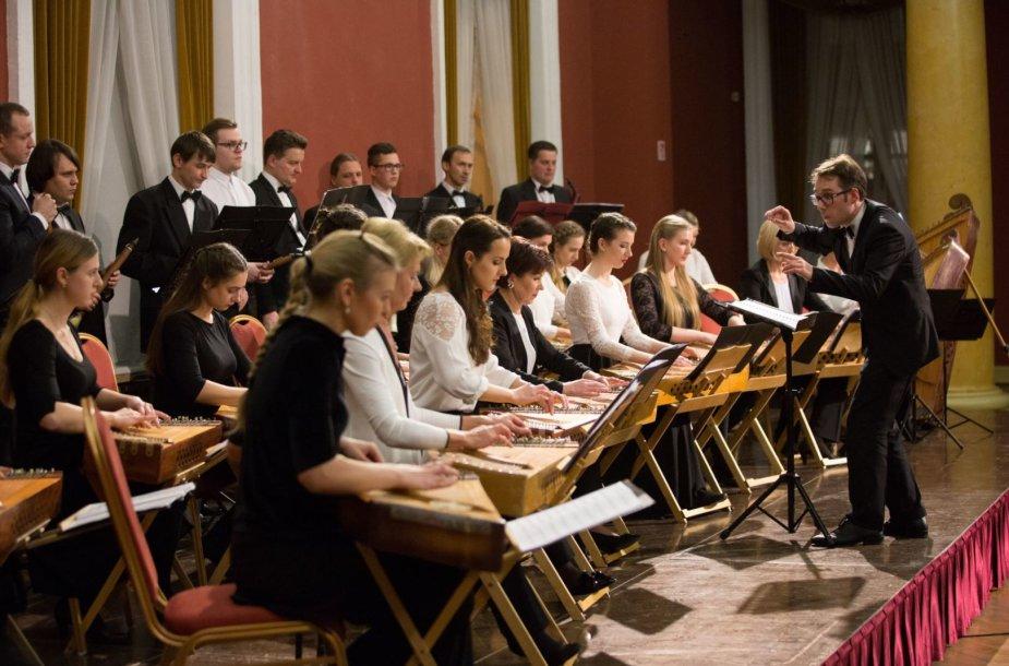 Jungtinis LMTA liaudies instrumentų orkestras ir valstybinio ansamblio Lietuva orkestras