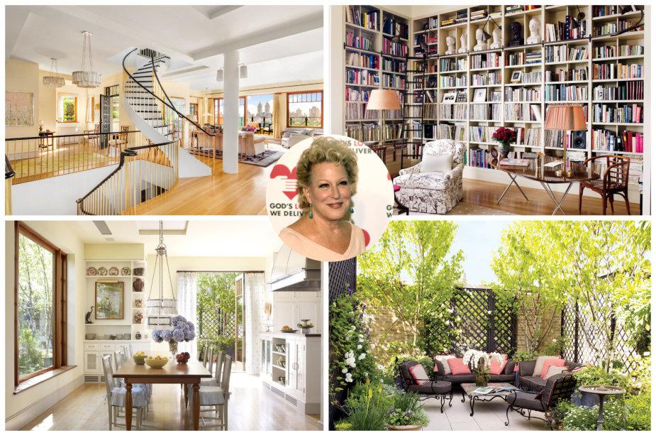 Bette Midler parduoda Niujorke stūksančius apartamentus