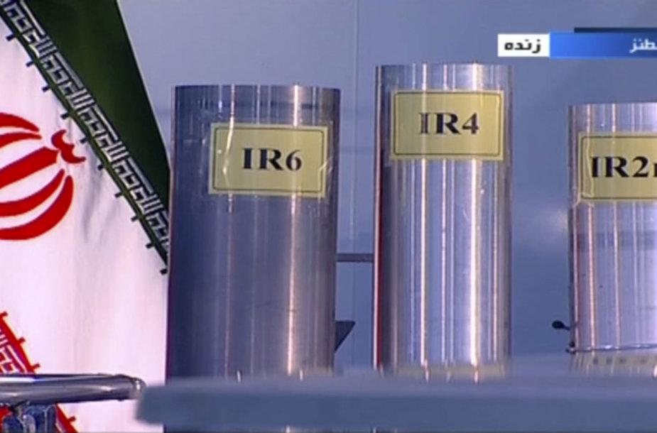 Irano Fordo komplekse pradedamas urano sodrinimas