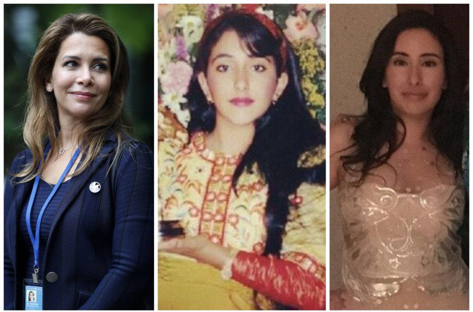 Princesės Haya, Shamsa ir Latifa