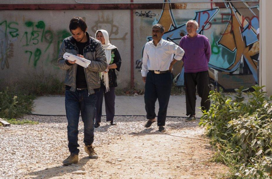 Migrantai iš Afganistano Graikijoje