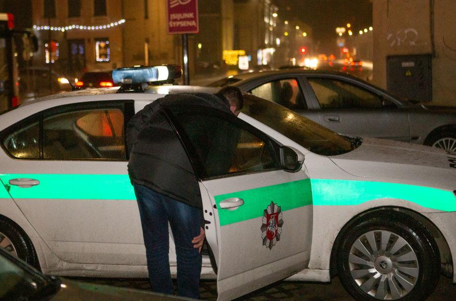 Naktinis Kauno policijos reidas