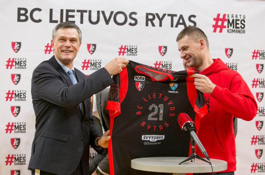Linas Kvedaravičius ir Artūras Jomantas