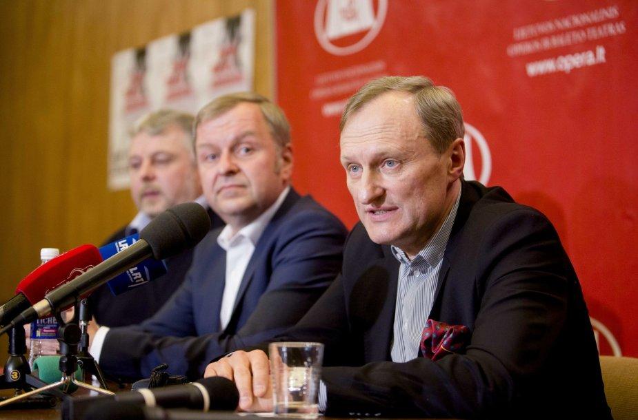 Gintautas Kėvišas pateikė komentarus apie teatro rekonstrukciją ir finansavimą