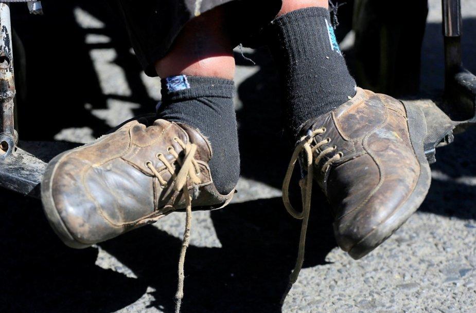 Žmonių su negalia protestas Bolivijoje