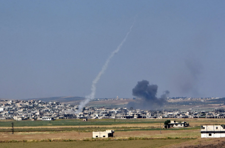 """""""Hamas"""" paleido raketų"""