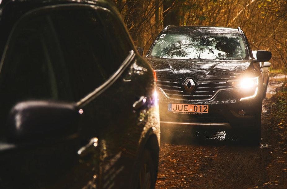 """Naujo """"Renault Koleos"""" bandymai"""