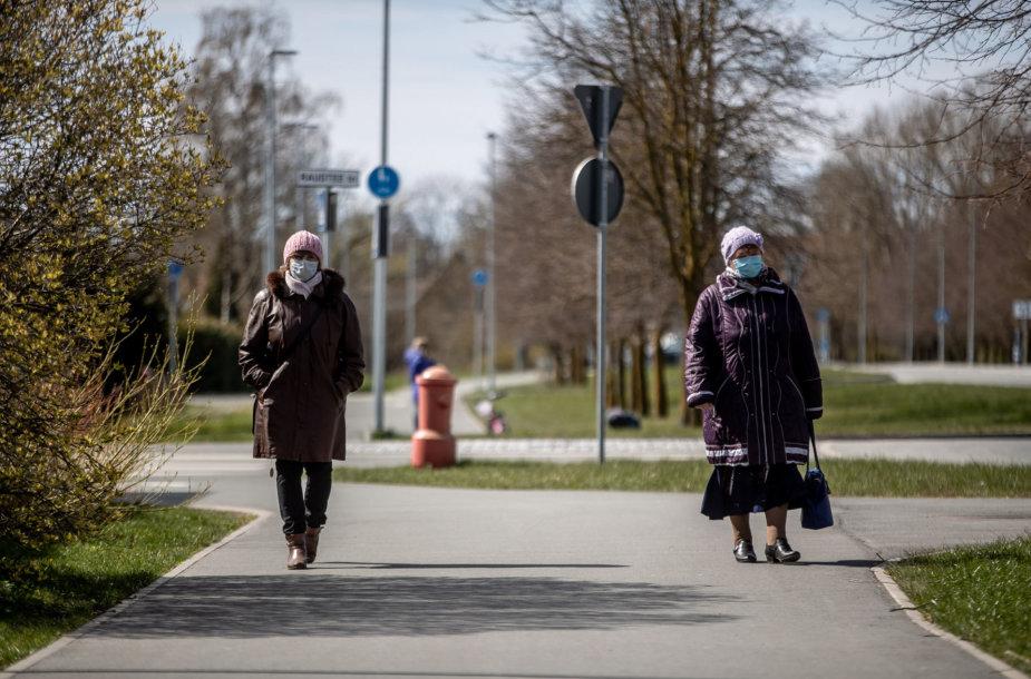 Estija per koronaviruso pandemiją