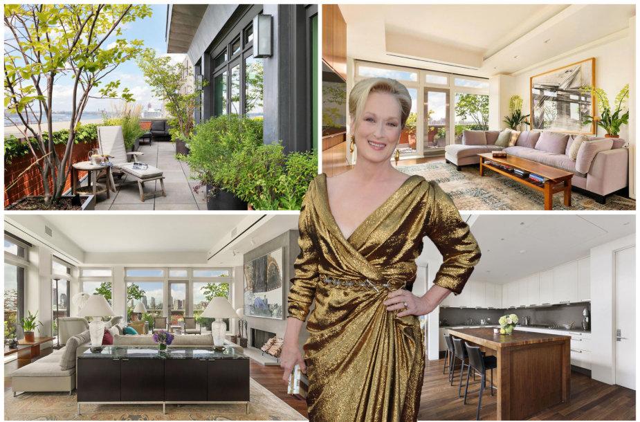 Meryl Streep parduoda apartamentus Niujorke
