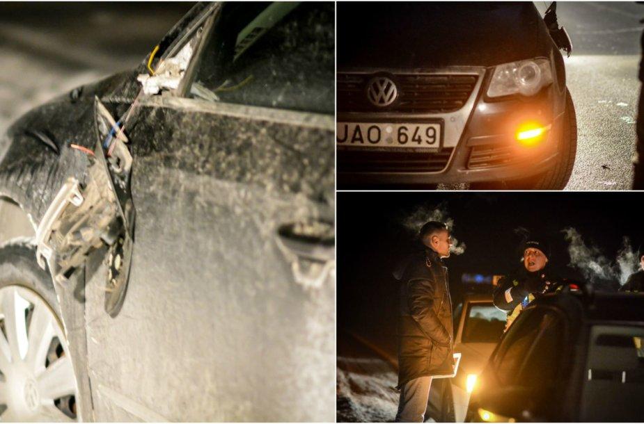 Naktinio Vilniaus policijos reido metu nubaustas tik vienas pažeidėjas