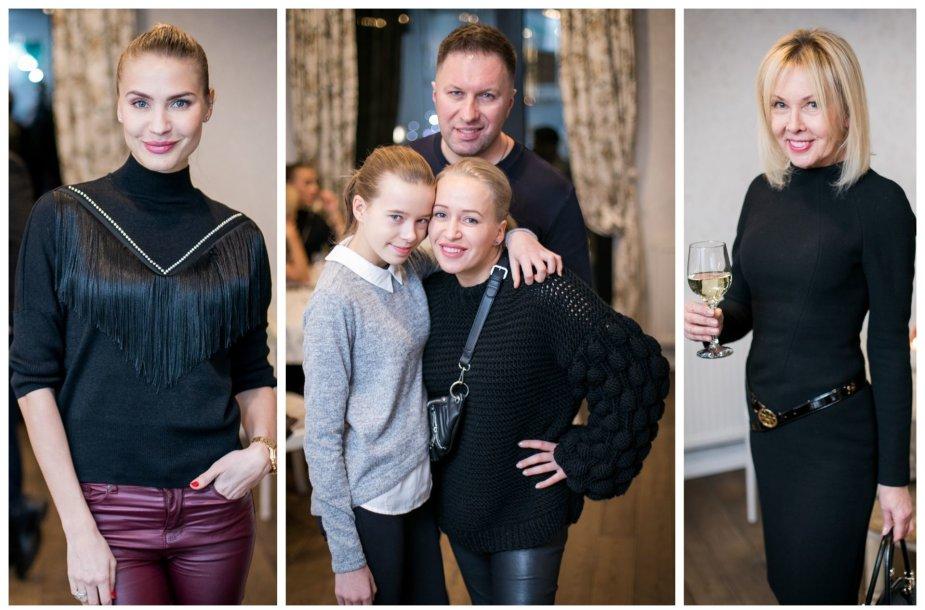 Simona Starkutė, Elena Puidokaitė-Atlanta su šeima, Audronė Bunikienė