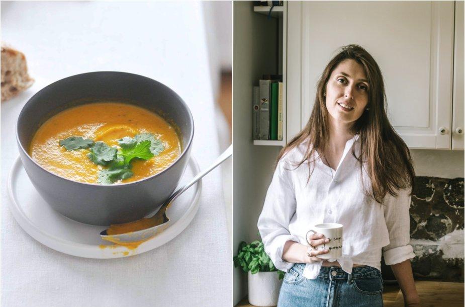 Tinklaraštininkė Jurgita ir jos virta aštri morkų sriuba
