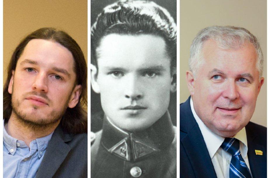 Andrius Labašauskas, Jonas Noreika, Arvydas Anušauskas