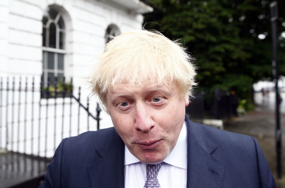 Londono meras Borisas Johnsonas
