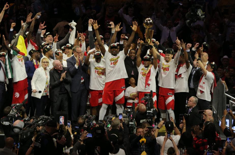 """""""Toronto Raptors"""" triumfas"""