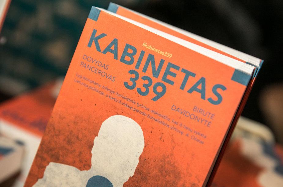 """Knygos """"Kabinetas 339"""" pristatymas"""