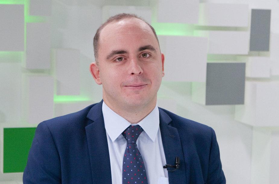 """Aleksandras Izgorodinas, """"SME Finance"""" ekonomistas"""