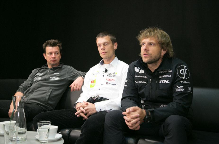 Antanas Juknevičius, Vaidotas Žala, Benediktas Vanagas