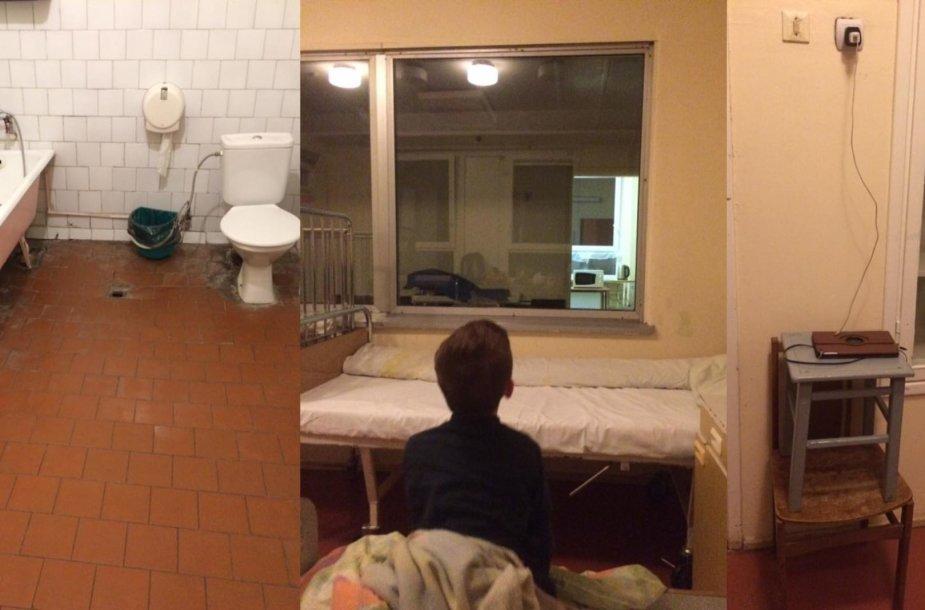 Sąlygos Kauno klinikinės ligoninės Infekcinių ligų klinikos vaikų skyriuje