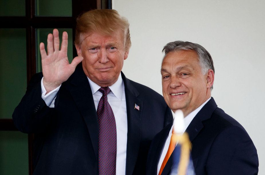 Donaldas Trumpas, Viktoras Orbanas