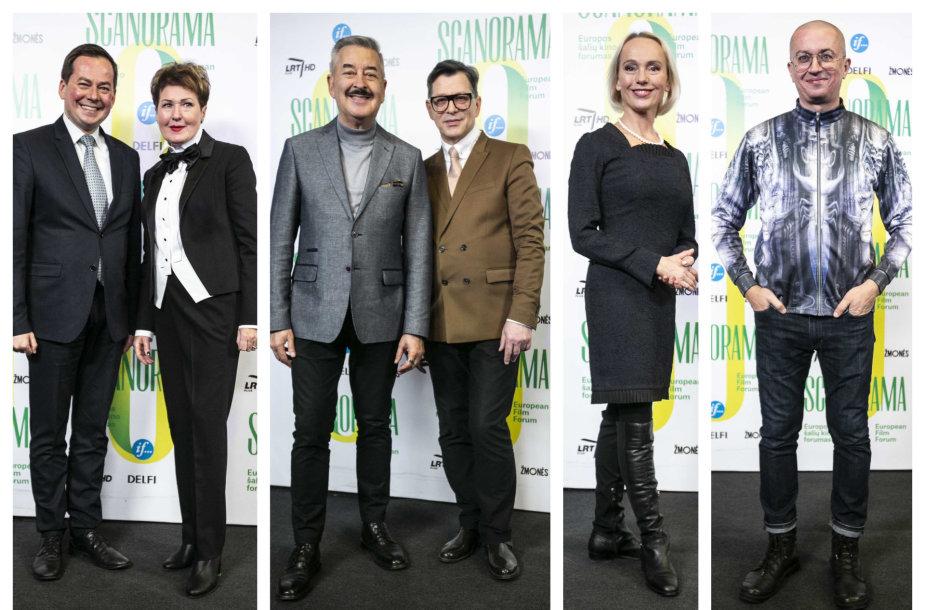 Arnoldas Pranckevičius, Gražina Arlickaitė, Vytenis Pauliukaitis, Eugenijus Skerstonas, Dalia Michelevičiūtė, Aleksandras Pogrebnojus
