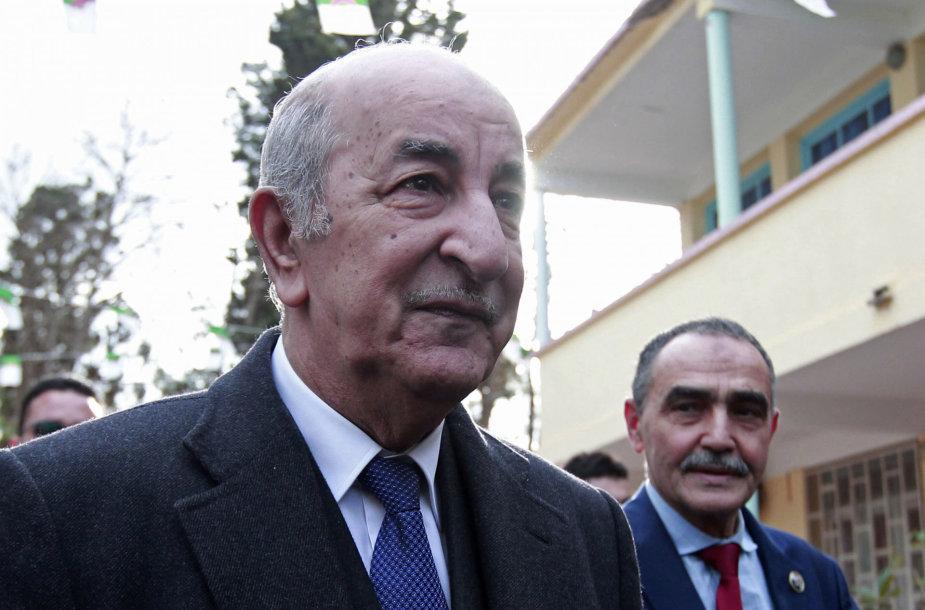 Abdelmajidas Tebboune'as