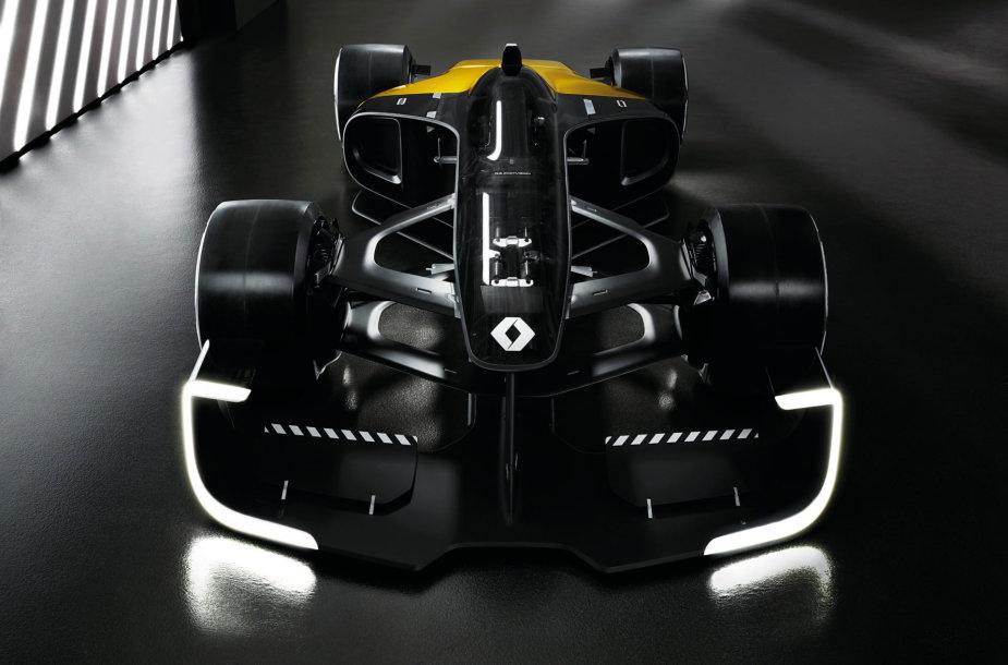 """Koncepcinis automobilis """"Renault R.S. 2027 Vision"""" parodė """"Formulės 1"""" ateitį"""