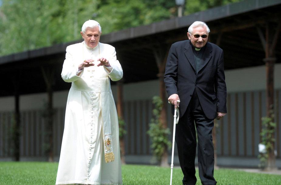Benediktas XVI ir Georgas Ratzingeris