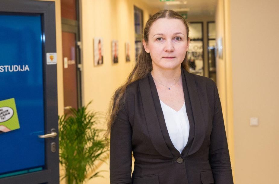 15min studijoje – Migracijos departamento vadovė Evelina Gudinskaitė