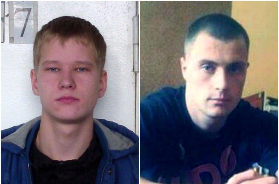 Įtariamieji – Deividas Ščesnavičius ir Rytis Gudynas