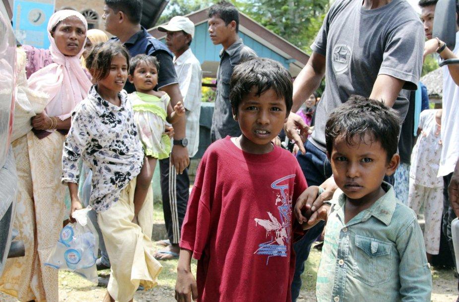 Nelegalūs imigrantai iš Bangladešo ir Mianmaro