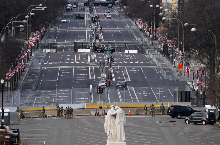 Vašingtonas prieš Joe Bideno inauguraciją