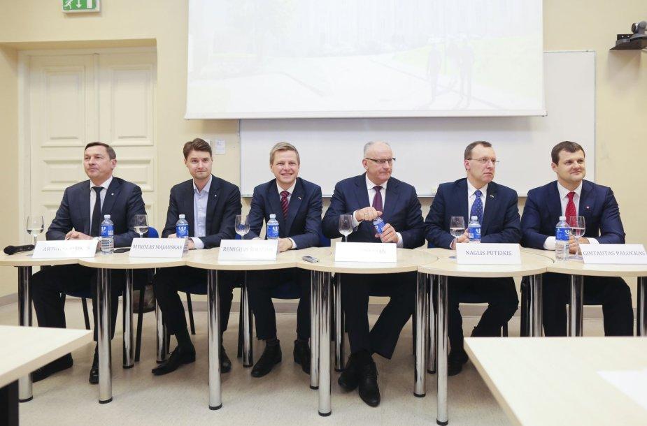 Kandidatai į Vilniaus merus