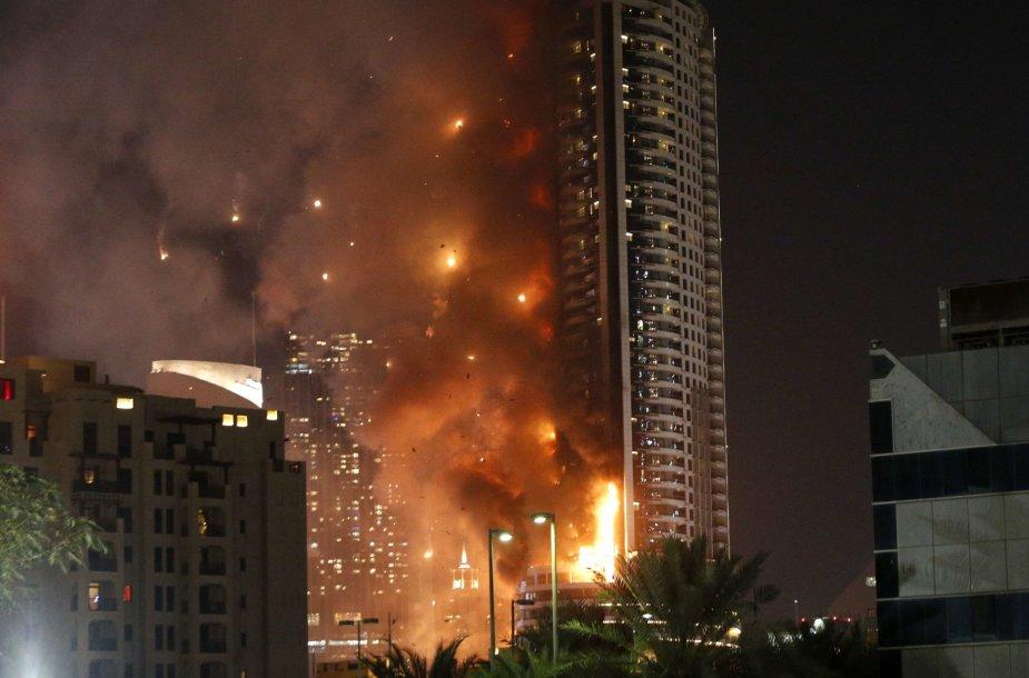 Gaisras Dubajuje