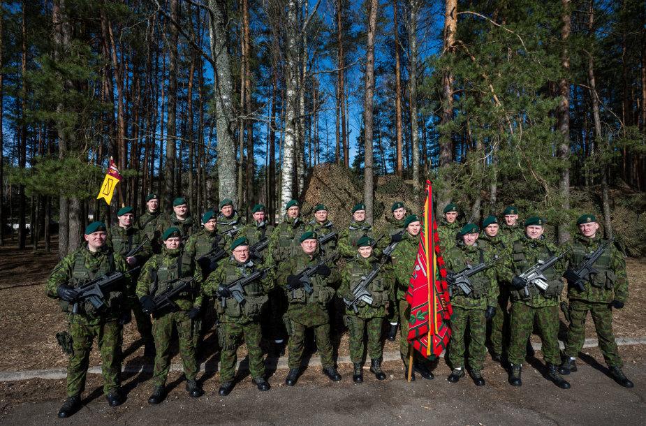"""Lengvosios pėstininkų brigados """"Aukštaitija"""" kovinės vėliavos įteikimo ceremonija"""