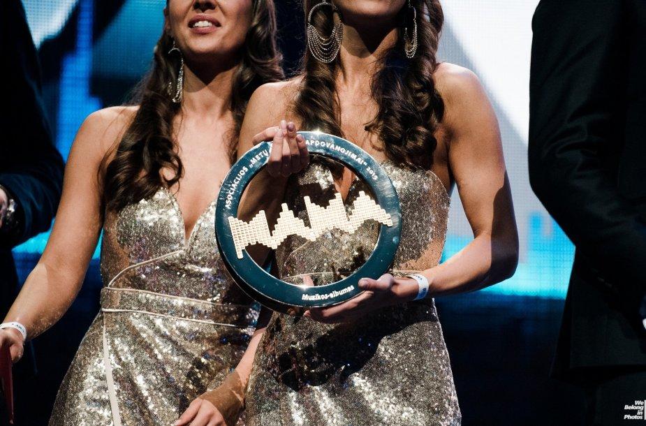 M.A.M.A apdovanojimų akimirka
