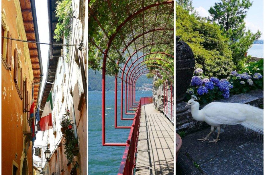 Žavingieji Italijos ežerai: Orta, Komo ir Madžorė
