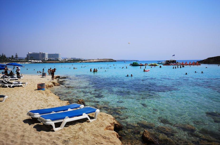 Nissi paplūdimys Agia Napoje