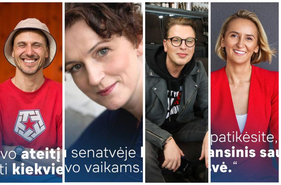 Dainius Žebrauskas, Kristina Savickytė, Saugirdas Vaitulionis, Laura Vagonė