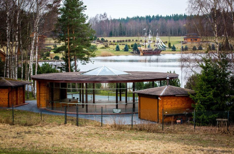 Jurijaus Borisovo vila šalia Trakų