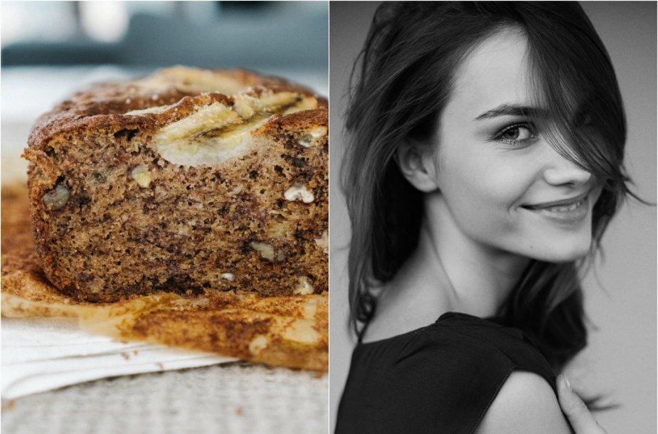 Julija Steponavičiūtė ir jos kepta bananų duona