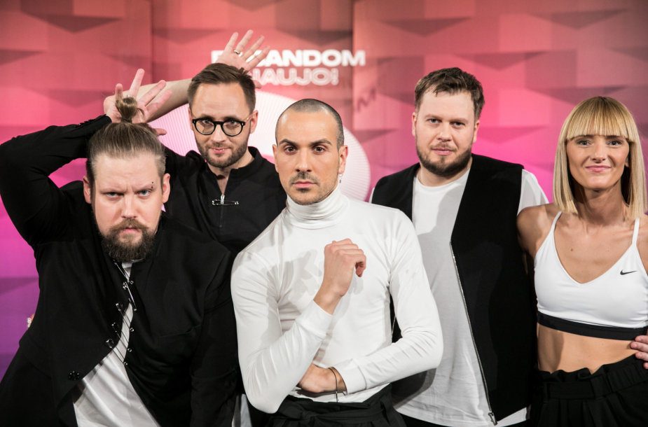 """Lietuva išrinko savo """"Eurovizijos"""" nugalėtoją: """"The Roop"""""""