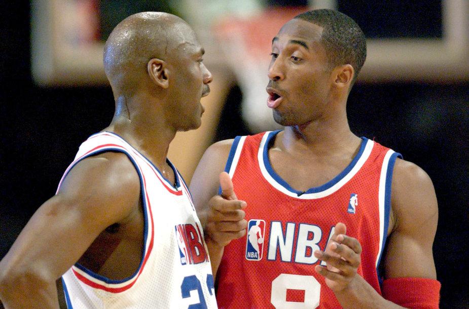 Michaelas Jordanas ir Kobe Bryantas